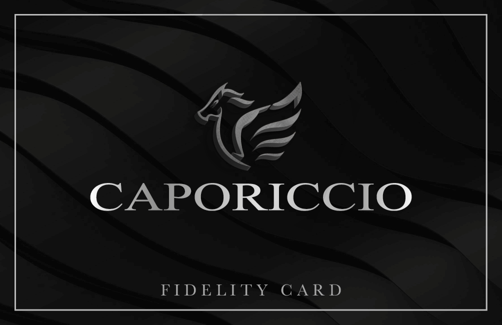 Caporiccio Fidelity Card